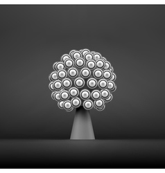 Abstract tree concept for communication vector