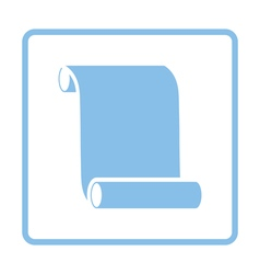 Canvas scroll icon vector