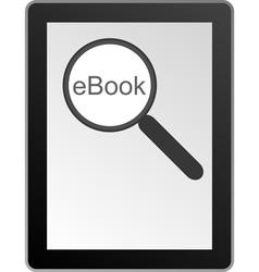 Ebook vector