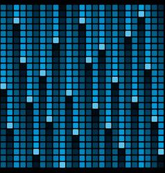 pixel rain background vector image vector image