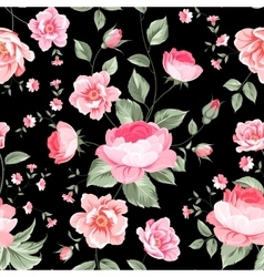 Luxurious peony wallapaper vector