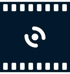 Smart phone vibrating icon vector