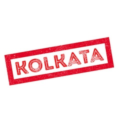 Kolkata rubber stamp vector