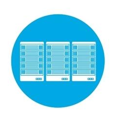 Symbol optimization database icon image design vector