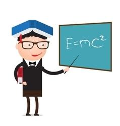 teacher education concept vector image