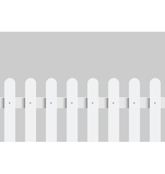 White fence vector
