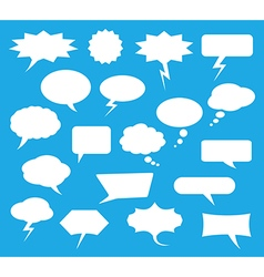 Blank speech bubble vector