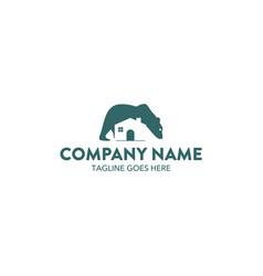 bear logo-10 vector image