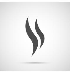 Coffee design steam icon vector