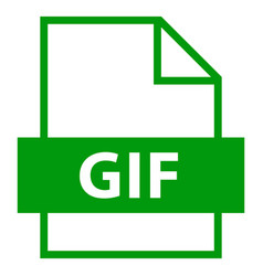 File name extension gif type vector