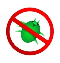 No malware icon vector