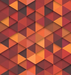 Seamless Orange Fashion Pattern vector image vector image