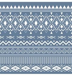 Tribal boho seamless pattern ethnic geometric vector