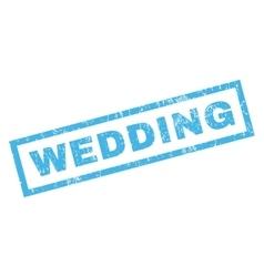 Wedding rubber stamp vector