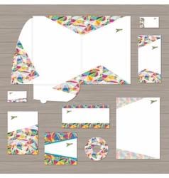 travel identity vector image