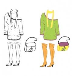 Clothes special vector