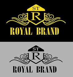 Royal brand logo vector