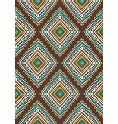 Seamless pattern with ethnic tribal ornamental vector