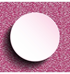Pink circle sequin background eps 10 vector
