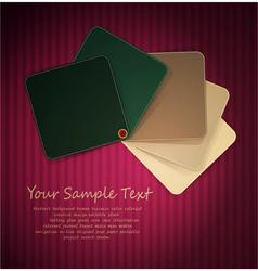 abstract copyspace design vector image vector image