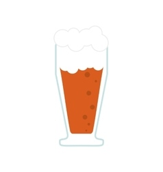 glass of beer icon vector image