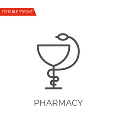 pharmacy icon vector image vector image
