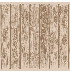 Realistic wood texture vector image vector image
