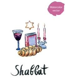 Shabbat vector image vector image
