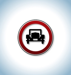 Traffic and auto icon vector image