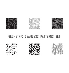 Universal lineal geometric seamless pattern vector