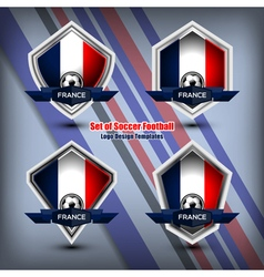 Logo design templates france vector