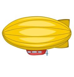 Cartoon dirigible vector