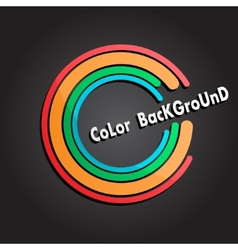 Color background vector