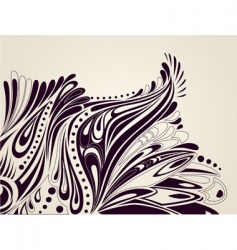 Abstract artistic background vector