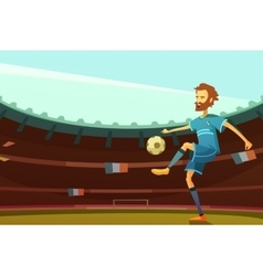 Euro 2016 background vector image