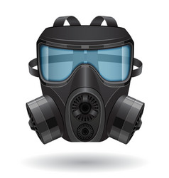 Gas mask 04 vector