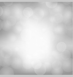 grey blurred light background vector image