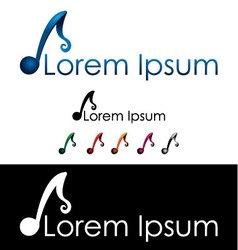 Musicians and music industry icon vector image