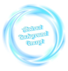 swirl background vector image vector image