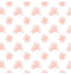Palm tree leaf seamless pattern vector