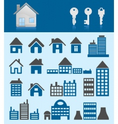 House icons3 vector