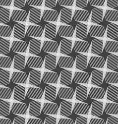 Monochrome pattern with light gray intersecting vector