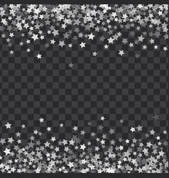 Abstract pattern of random falling stars vector