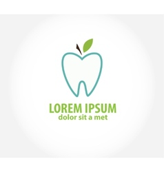 Oral hygiene label - vector
