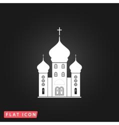 Church icon vector