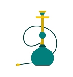 Hookah icon flat style vector image