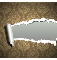 ornament wallpaper vector image vector image