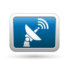 Satellite icon vector image