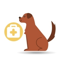 veterinary clinic concept first aid vector image
