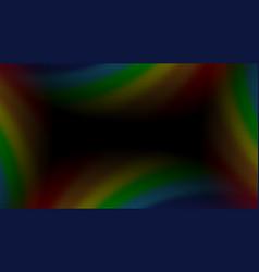 Rainbow gradient background mesh vector